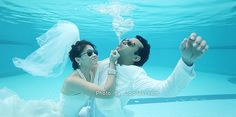 Pre-wedding Underwater by COLOFEEL PHOTOGRAPHY