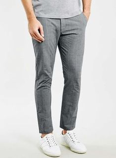 M & S Mens Autograph Slim Fit Cuffed Chinos Wool Rich