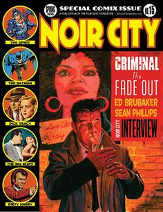Noir City Magazine, Spring 2015, Special Comix Issue.