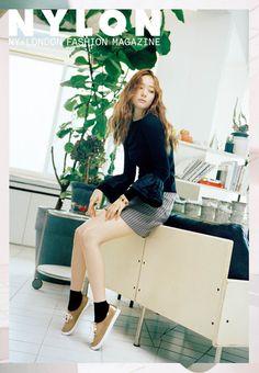 f(x) Krystal - Nylon Magazine October Issue '15