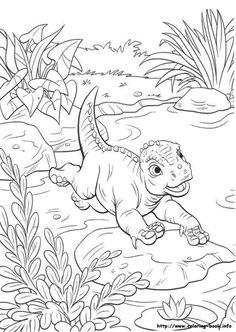 ausmalbilder land vor unserer zeit 7 | malvorlage dinosaurier, ausmalbilder