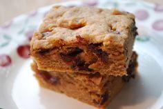 Whole Wheat Blondies Recipe | Healthy Recipes Blog