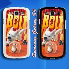 Bolt 3D animation Cartoon Movie Samsung Galaxy S3 Case Cover