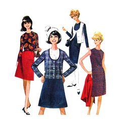 1960s Vintage Sewing Pattern McCalls 8089 by finickypatternshop, $9.75