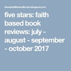 note from me: happy fall, dear reading friend! Five Star, Happy Fall, Book Reviews, Good Books, How To Find Out, Charlotte, This Book, September, Faith