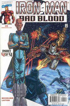 Iron Man Bad Blood (2000) 4