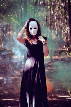 we all hide behind masks