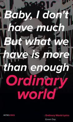 Green Day - Ordinary World