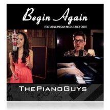 Love it! #BeginAgain – Megan Nicole, Alex Goot and The Piano Guys | #ThePianoGuys