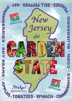 """September ATC3 - NJ: the """"GARDEN STATE"""""""