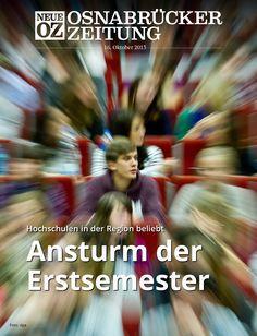 Die Erstsemester stürmen die Hochschulen in Niedersachsen: Lesen Sie jetzt mehr zum Titelthema in Ihrer Abendausgabe.
