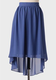 Off Shore High-low Midi Skirt at Ruche. This would be cute dressed down with a white cami or tee.