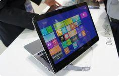 Samsung revela protótipo de portatil com dois ecrãs