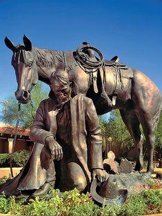 Statues You Need to See Before You Die - True West Magazine Horse Sculpture, Bronze Sculpture, Metal Sculptures, Abstract Sculpture, Hans Christian, Equine Art, Western Art, Horse Art, Public Art