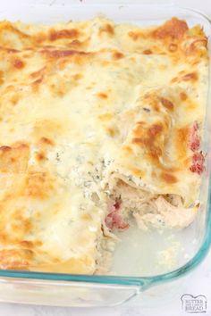 Chicken Enchilada Stuffed Shells Lasagna Recipesrice Recipeschicken Recipeschicken Cordon Bleuchicken