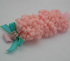 Felt Rosette Headband Felt Rosette Trio by LittleDivaBoutique, $12.00