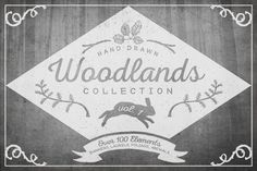 Woodlands Collection, Vol. 1 by Erin Manuel on Creative Market