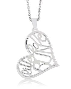 """Endure Jewelry: Live Love Run Pendant: Runner's Necklace - Feminine Jewelry at it's finest! Gorgeous, statement size piece that says """"I'm a runner"""" in such a pretty way… #EndureJewelry #Running #Gifts"""
