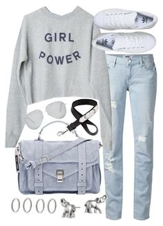 """""""Untitled #19507"""" by florencia95 ❤ liked on Polyvore featuring Paige Denim, adidas, Proenza Schouler, Givenchy, Lonna & Lilly, Victoria Beckham, Forever 21, women's clothing, women and female"""