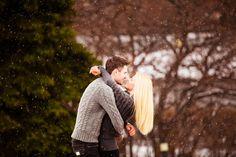 Winter love-story engagement session photographer Teplova Zhanna