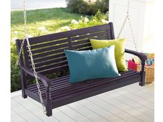 6 Sweet Porch Swings --> http://www.hgtvgardens.com/photos/sitting-pretty-on-the-porch-6-great-swings?s=2&soc=pinterest