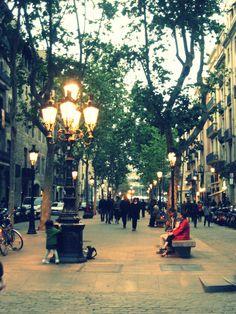 Passeig del Born - Barcelona, Spain