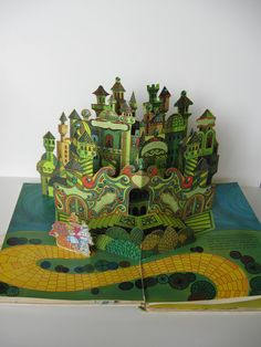 The Wizard of Oz Pop-Up Classic RARE Collectible Edition HB First Edition Original Illustrated by Dave Chambers and John Spencer.