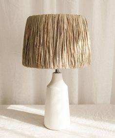 DIY raffia lamp / part 2