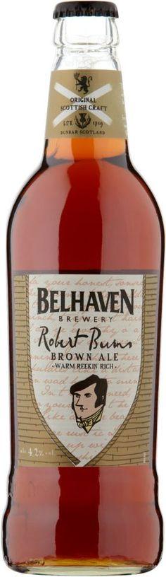 Belhaven Brewery - Belhaven Robert Burns Brown Ale 4,2% pullo