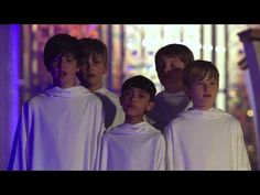 Fall on your knees! Oh, hear the angel voices...! Libera Choir... O Holy Night...