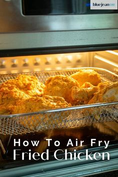 Make amazing homemade fried chicken in your air fryer! Using your air fryer to make buttermilk fried chicken lets you enjoy one of your favorite fried foods without all the guilt or the mess of deep-frying. With this easy recipe you can use chicken thighs, drumsticks, wings, boneless breast, tenders or any combo you like for delicious juicy fried chicken. Homemade Fried Chicken, Air Fryer Fried Chicken, Moist Chicken, Buttermilk Fried Chicken, How To Make Buttermilk, Air Frier Recipes, Deep Frying, Cooking 101, My Best Recipe