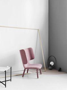 MODER PINK CHAIR  modern chair design for a minimal decor   www.bocadolobo.com/ #modernchairs #chairideas