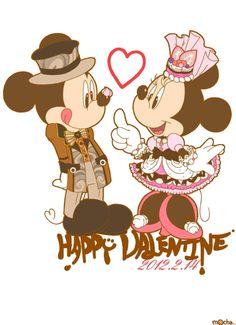 valentines day mickey minnie mousedisney