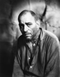Portrait of Lon Chaney in West of Zanzibar directed by Tod Browning, 1928
