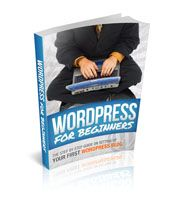 In this eBook, WordPress for Beginners  (24 page, 2,236 Words) you will find step-by-step instructions and illustrations which will guide you with setting up your WordPress.