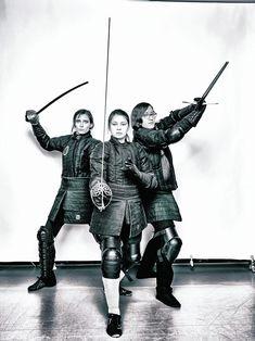 From left: Laura McBride, Tanya Smith, Deena Sadek http://www.villagevoice.com/news/fecht-club-new-yorks-women-warriors-kick-ass-8601021