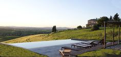 Appartments at Podere Finerri in Asciano, Tuscany. Great place to stay.