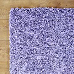 Shaggy Purple Rug