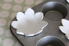 How to Make Clay Ring Dishes #Clay #AirDryClay #RingDishes