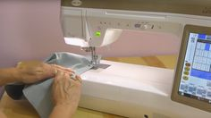 """How To Make Continuous Bias Binding - YouTube. Notes: To help line up the edge, cut 2"""" of the binding before sewing in a tube shape. myb"""