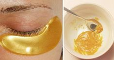 They Call It The Gold Mask Because It Helps To Eliminate Wrinkles, Blemishes and Acne. Here Is The Prescription. Homemade Facial Mask, Homemade Facials, Face Care, Body Care, Skin Care, Beauty Care, Beauty Hacks, Skin Spots, Contouring