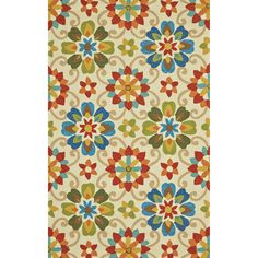 Hareer Multi-colored Rug (7'6 x 9'6) - Overstock Shopping - Great Deals on Grand Bazaar 7x9 - 10x14 Rugs