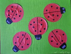 Quick, cute, no-cost ladybugs!