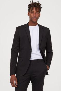 Skinny Fit Blazer - Black - | H&M US