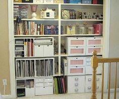 Your Best Storage Ideas 2011: Scrappy Closet Storage