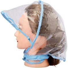 Rain Bonnet, Bonnet Hat, Rain Hat, Neck Ties, Plastic Material, Hold Ups, Hair Makeup, Purses, Simple
