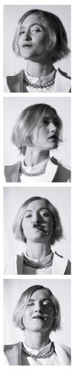 Comédien : Ingrid Donnadieu Styliste and make up : XX XY La gazette de Marcel Rose