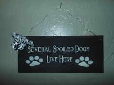 Pet Wood Pet Sign by AngelPaws6 on Etsy