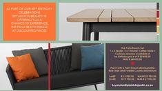 Welcome to Plaisir du Jardin Bryanston ! Outdoor Sofa, Outdoor Living, Outdoor Furniture, Outdoor Decor, Palm Beach, Cushions, Yard, Home Decor, Gardens