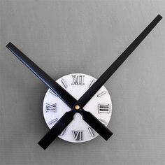 Find More Wall Clocks Information about Big Pointer 30CM Imitation Metal DIY Wall Clock Large Wall Clocks Decoration for Living Room,High Quality decor clock,China clock wall decor Suppliers, Cheap decorative oversized wall clocks from ChowDon Household Mall on Aliexpress.com